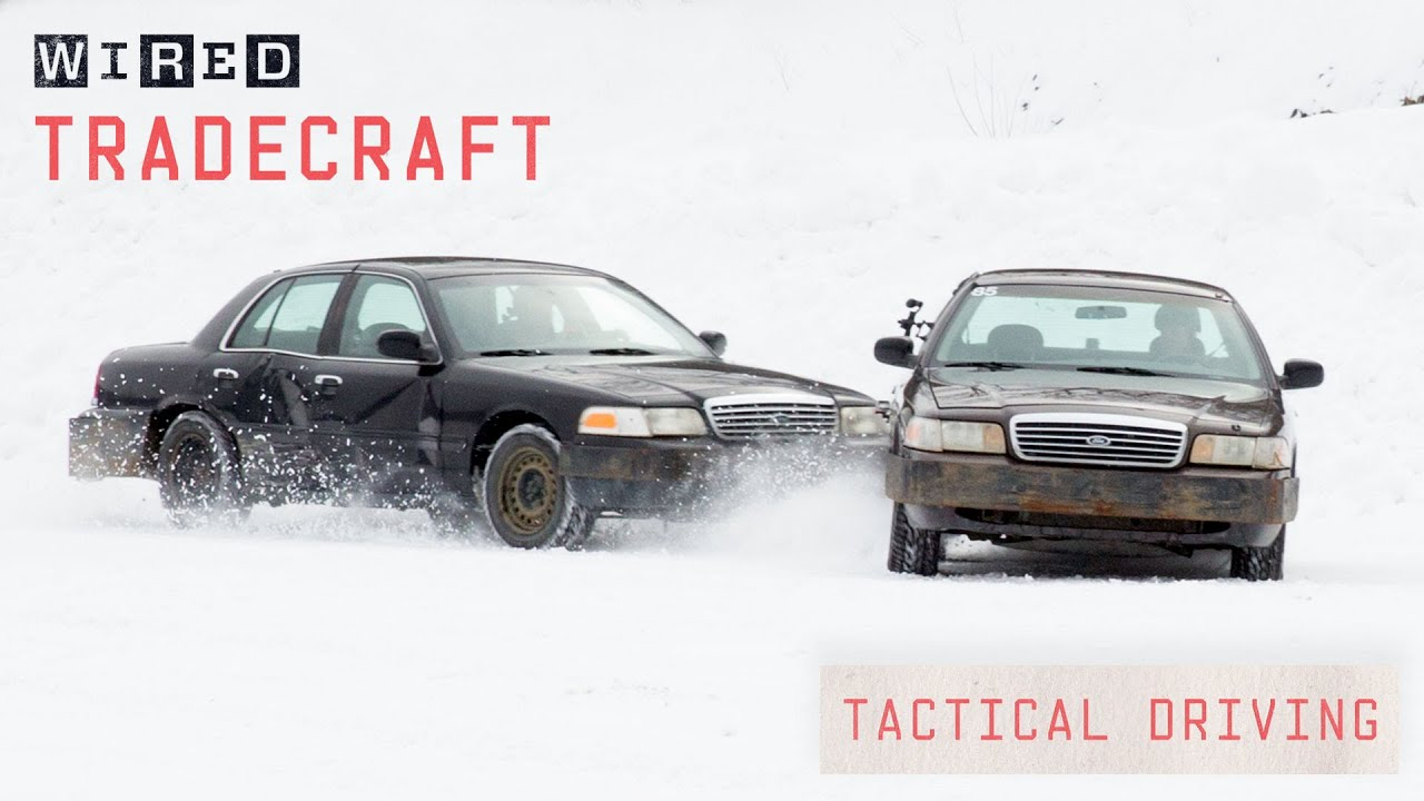 Professional Driver Explains Tactical Driving Techniques | Tradecraft | WIRED