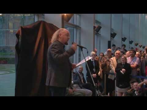 David Attenborough and Bill Bailey give brilliant talks at London's Natural History Museum