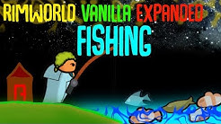 Vanilla Expanded Fishing! Rimworld Mod Showcase