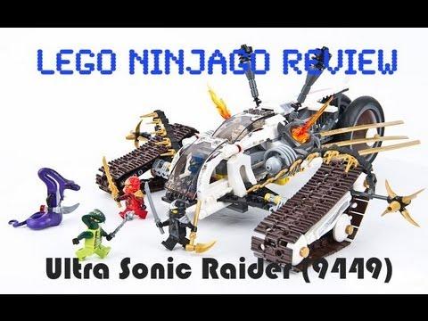 Lego Ninjago Ultra Sonic Raider Review 9449 - YouTube
