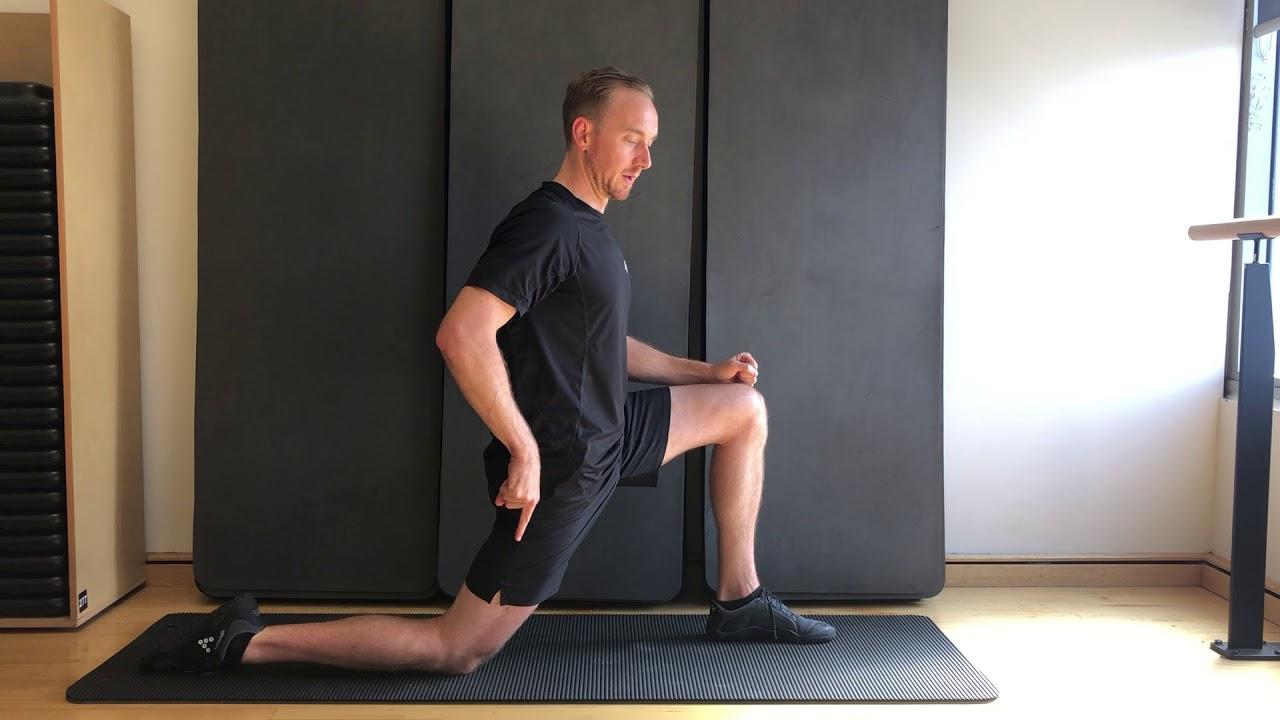 Pails and Rails Kneeling Hip Flexor