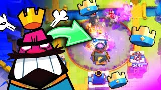 YOULL LOVE TH S DECK • BE D FFERENT in Clash Royale