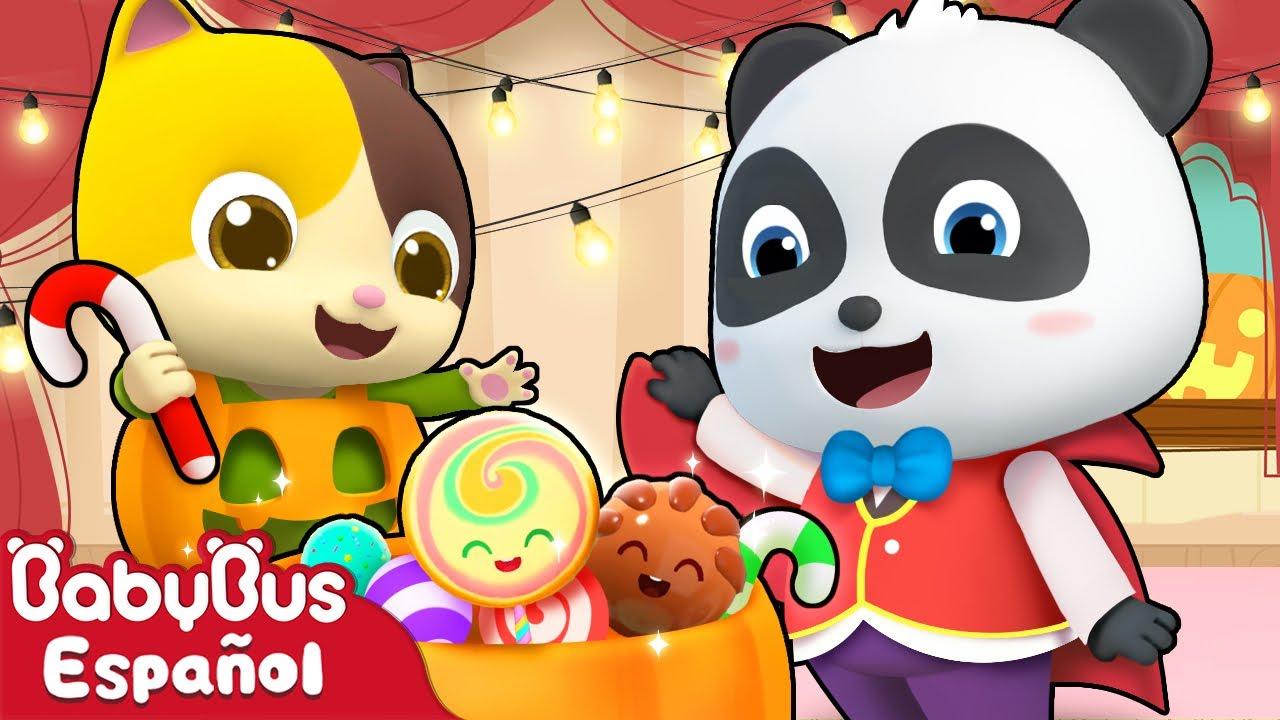¡Dulce o truco! | Canciones de Halloween | Canciones Infantiles | Video Para Niños | BabyBus Español