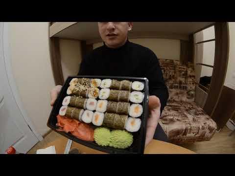 Пробуем суши сет за 350 руб. Суши-бар «Токио» г. Судак