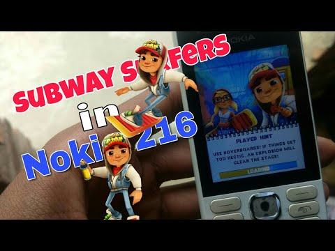 Downloading & Installing Subway Surfers In Nokia 216 (Nokia Phones) In Hindi