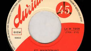 Fausto Papetti   a Et Maintenant 18 07 1962