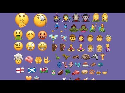 Emoji IOS 11.1 En Android . Compatible  7.0 Nougat ( No Root )