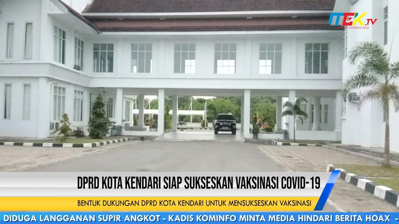 DPRD Kota Kendari Siap Sukseskan Vaksinasi COVID 19