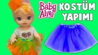 Baby Alive Oyuncak Bebek 23 Nisan Çocuk Bayramı Kostüm Yapımı | Nasıl Yapılır | Oyuncak Butiğim