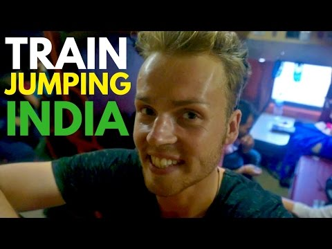 JUMPING ON A MOVING TRAIN | India Travel