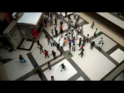 SC/ST protection act:  protest in Faridabad Mall