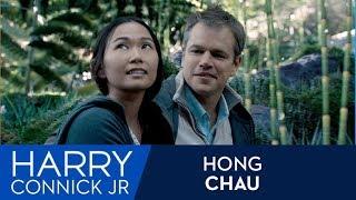 Hong Chau on Matt Damon