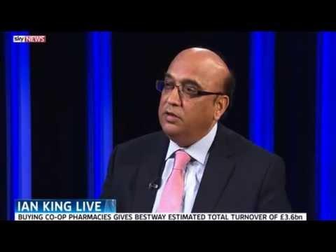 Bestway buys Co-op Pharmacy (Sky News 6 October 2014)