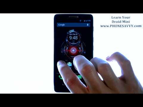 Motorola Droid Mini - How Do I Adjust Volumes