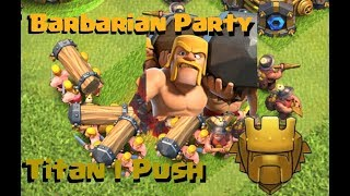 Clash of Clans | Battle Ram and Miner Trophy Push to Legends