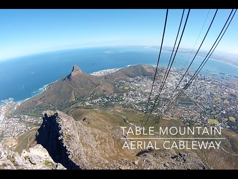 Cape Town Kaapstad Table Mountain Cable South Africa