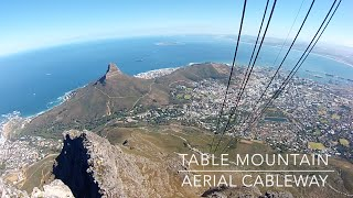 Cape Town - Kaapstad - Table Mountain cable - South Africa