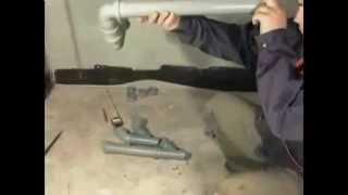 Прокладка труб канализации - как проложить канализационные трубы(, 2014-09-19T23:41:32.000Z)