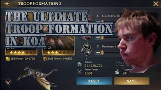 King of Avalon - The Ultimate PvP Troop Formation screenshot 4
