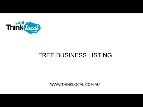 Add a Free Business Listing