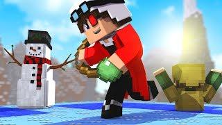 НОВЫЙ РЕЖИМ НА РЕАЛМСЕ! БИТВА АЙСМЕНОВ В МАЙНКРАФТЕ! Minecraft Ice Wars