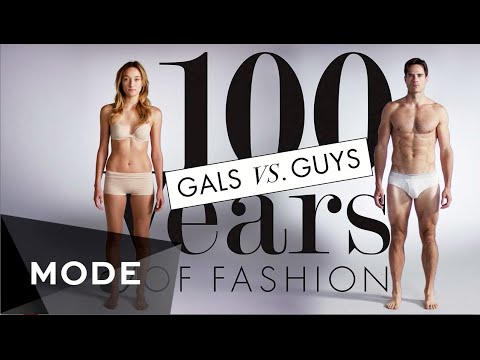 100 Years of Fashion: Gals vs. Guys ★ Glam.com