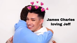James Charles loving everything about Jeff for 12 minutes