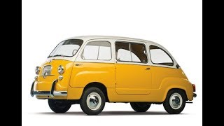 Fiat 600 Multipla and Fiat Multipla