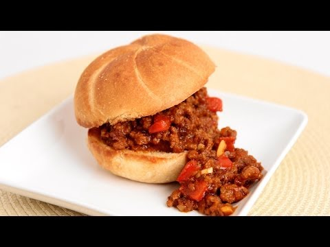 Homemade Sloppy Joes Recipe - Laura Vitale - Laura in the Kitchen Episode 746