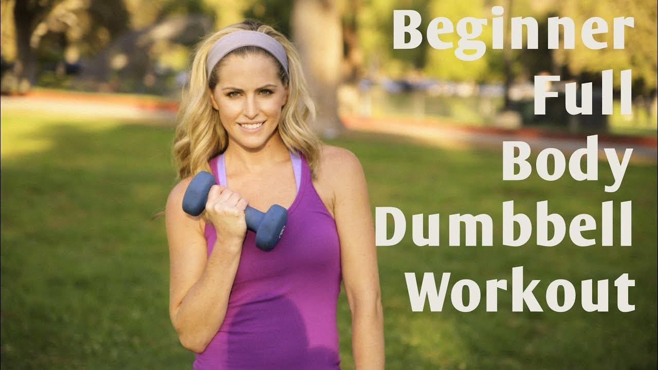 15 Minute Beginner Full Body Dumbbell Workout