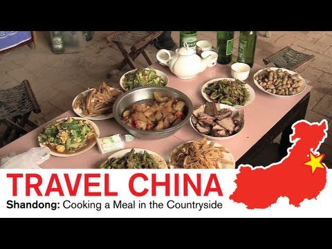 Shandong Travel - Cooking a Meal in the Countryside