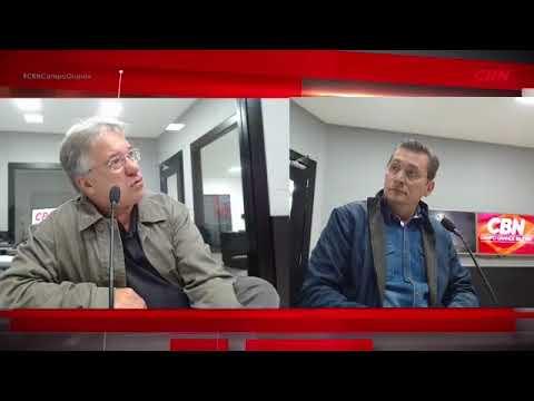 Entrevista CBN Campo Grande: professor UFMS,  Rubens Silvestrini