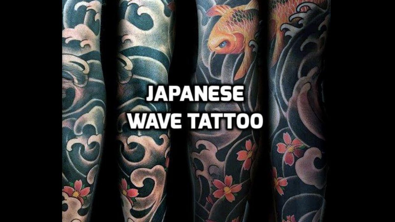 fac8ce67af69f Japanese Wave Tattoo - A Guide To Japanese Tattoos - YouTube