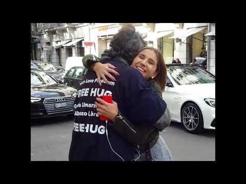 Free Hug Action 28 10 2018 Zürich, Switzerland  Wolfhug Network