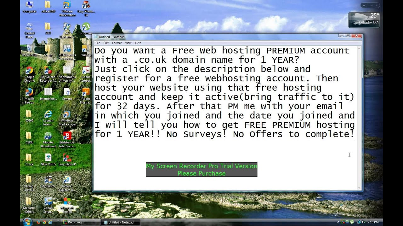 how to get a web domain