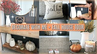🍂 Fall Decorate with Me // Fall House Tour 2018