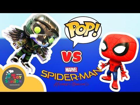 Funko - Spider Man Home Coming Funko Pop, Người Nhện trở về nhà - ToyStation 92