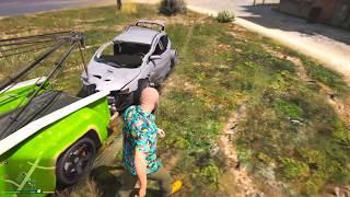 Gta 5 Нашел на свалке заброшенную машину  Забираю себе