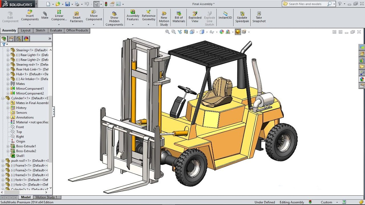 how to make assembly configurations in solidworks