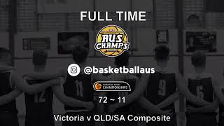 AusChamps U18 - Game 88 - Kevin Coombs Cup - Victoria v QLD/SA Composite