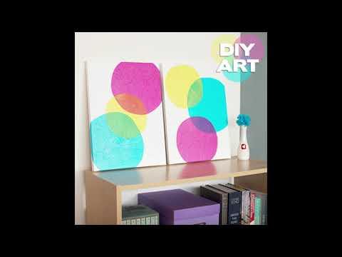 DIY WALL ART IDEAS - COMPILATION