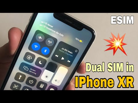 How To Activate ESIM On IPhone XR ? | Dual SIM In IPhone 🔥🔥🔥