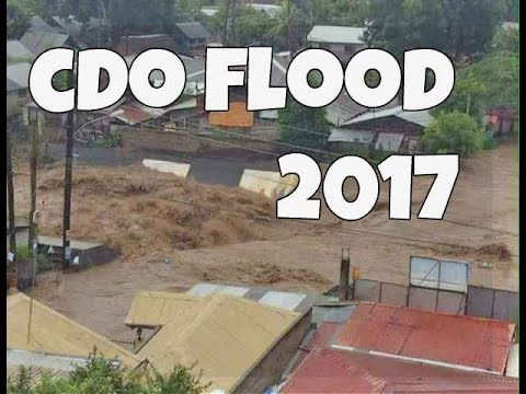 CAGAYAN de ORO  FLOOD (2017)