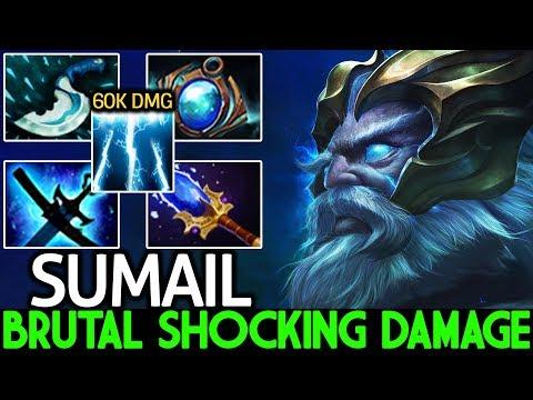 SumaiL [Zeus] Brutal Shocking Damage Epic Killing Machine 7.21 Dota 2