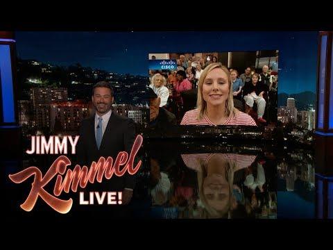 Download Youtube: Jimmy Kimmel Talks to Kristen Bell in Orlando After Hurricane Irma