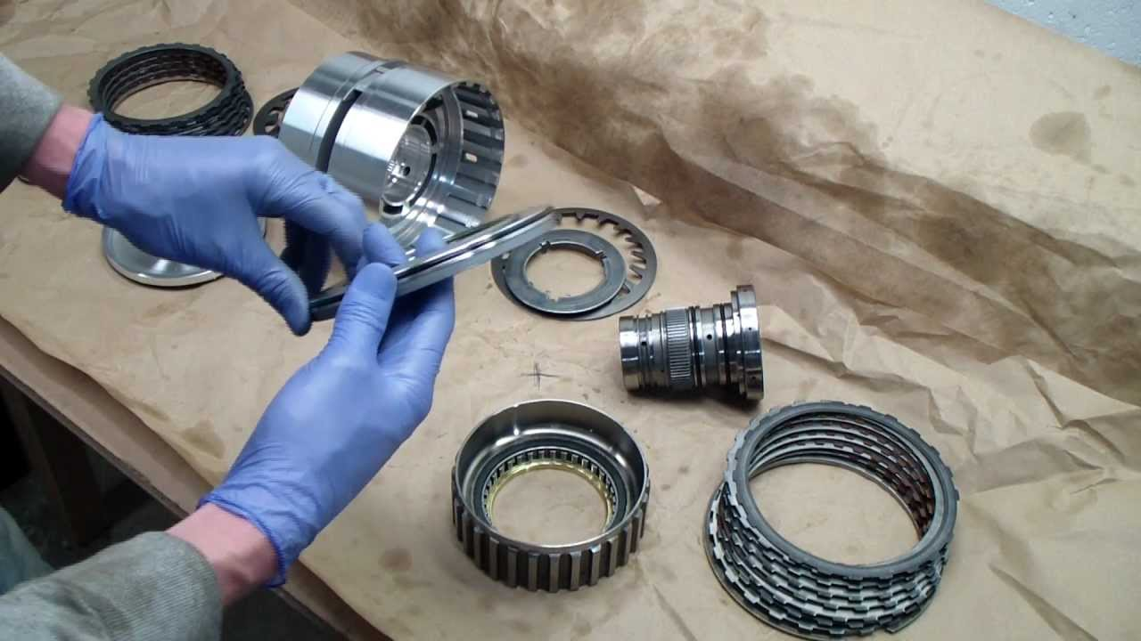 Zf 5hp19 Reverse D Drum Assembly Rebuild Youtube