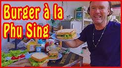 Thai Burger a la Phu Sing - Du wirst überrascht sein!