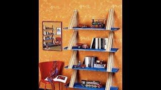 полки для книг из подручных материалов, 2019, Bookshelves from scrap materials