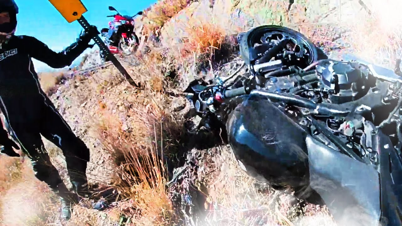 RIDER GOES DOWN! - Hectic, Epic Motorcycle Moments (Ep. #15)