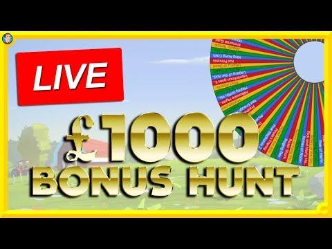 £1000 Bonus Hunt Live
